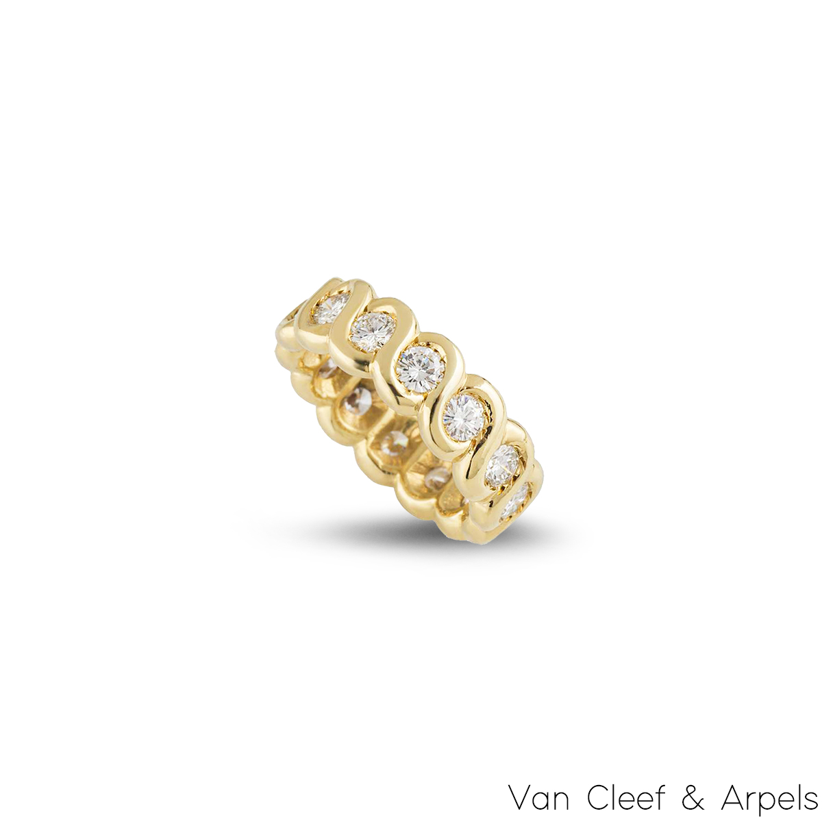 Van Cleef & Arpels Diamond Eternity Ring 1.40ct G/VS